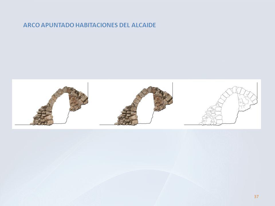 ARCO APUNTADO HABITACIONES DEL ALCAIDE 37