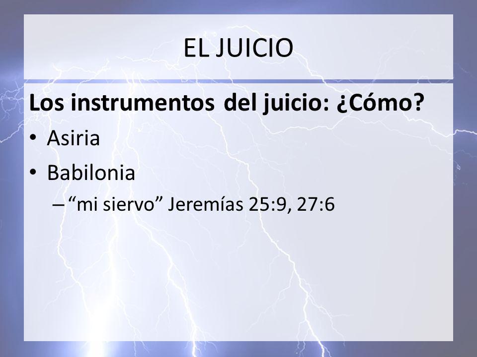 EL JUICIO Los juzgados ¿A quiénes.