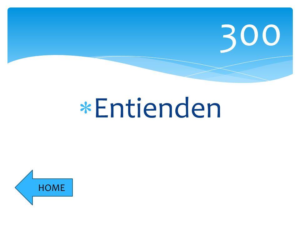 Entienden 300 HOME