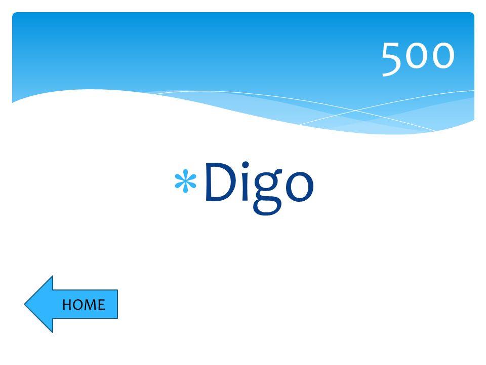 Digo 500 HOME