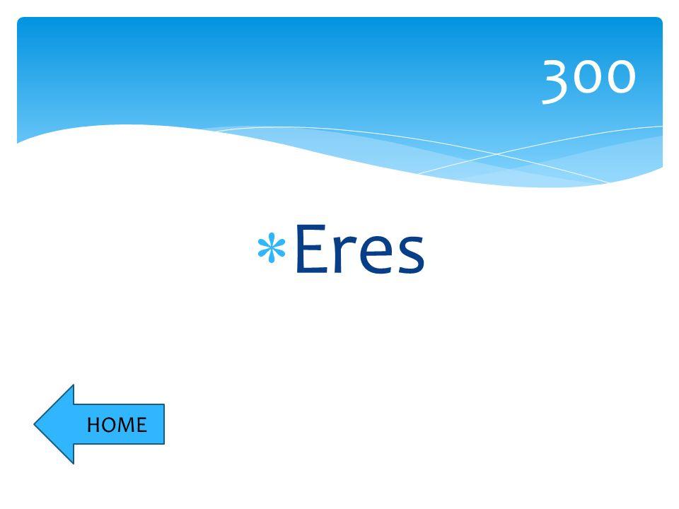 Eres 300 HOME
