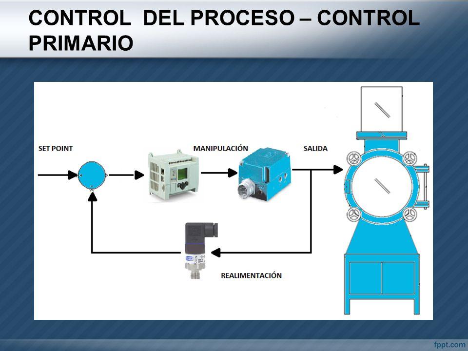 CONTROL DEL PROCESO – CONTROL PRIMARIO