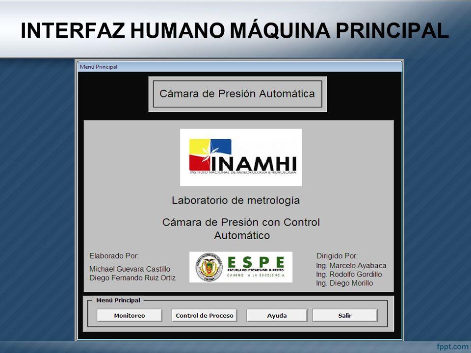 INTERFAZ HUMANO MÁQUINA PRINCIPAL