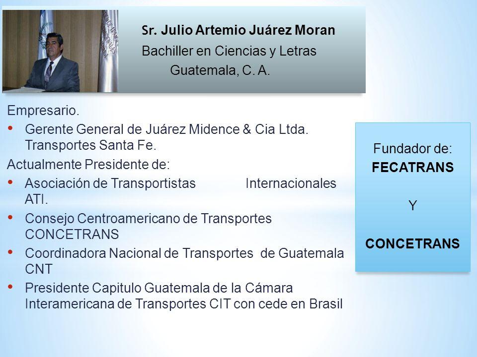 El Transporte Internacional de Carga por Carretera en Centroamérica