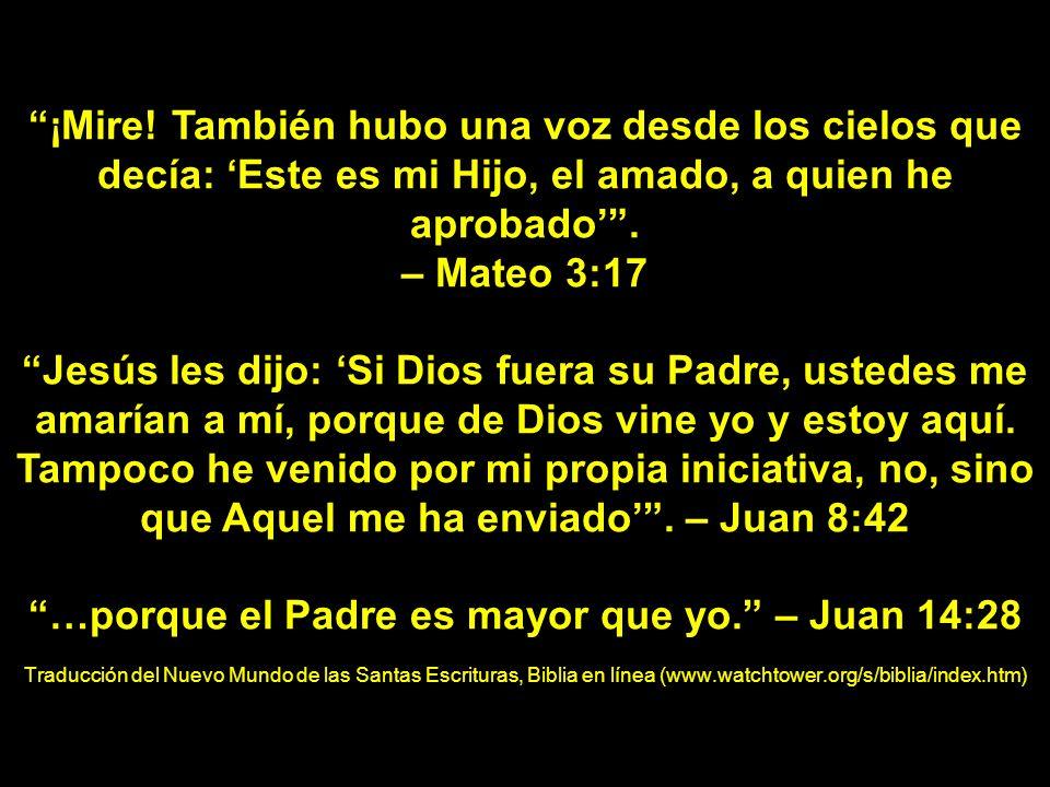 Jesús le dijo: …ponte en camino a mis hermanos y diles: Asciendo a mi Padre y Padre de ustedes y a mi Dios y Dios de ustedes.