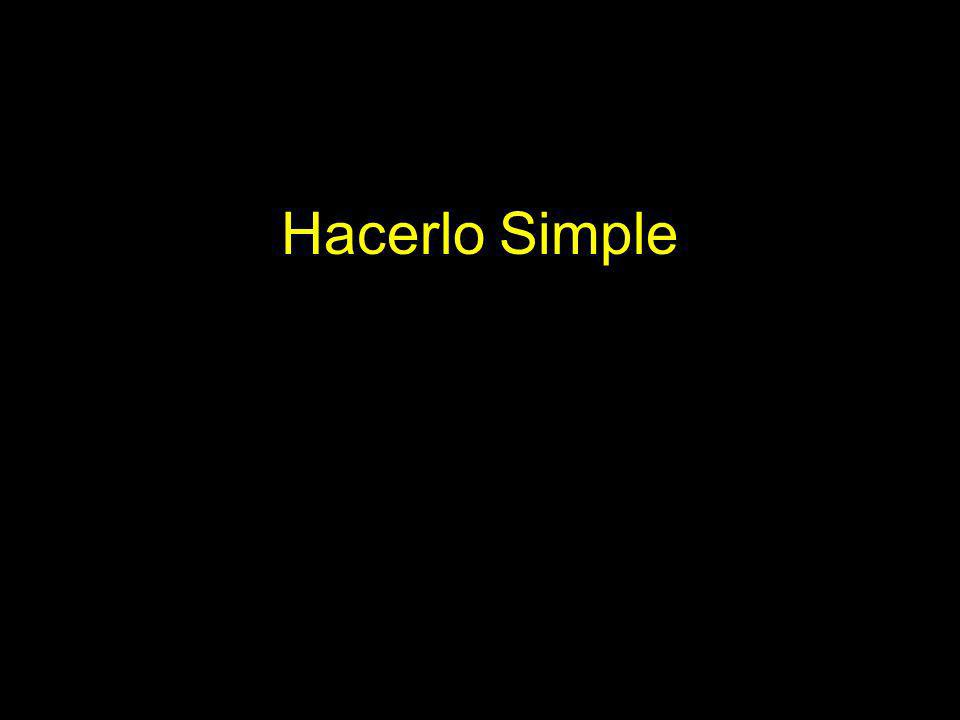 Hacerlo Simple