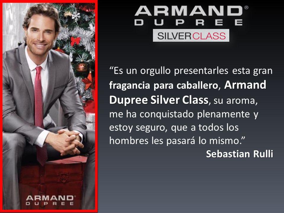 Armand Dupree Silver Class Es un orgullo presentarles esta gran fragancia para caballero, Armand Dupree Silver Class, su aroma, me ha conquistado plenamente y estoy seguro, que a todos los hombres les pasará lo mismo.