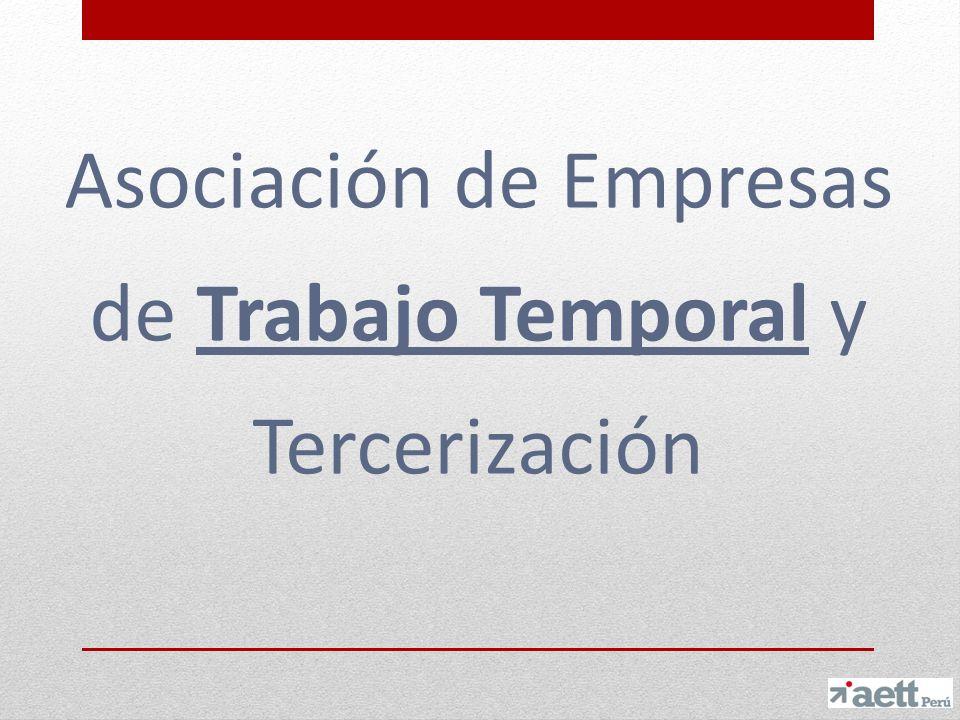 Asociación de Empresas de Tercerización y Trabajo Temporal