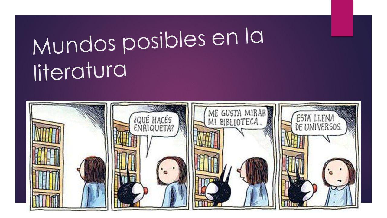 Mundos posibles en la literatura