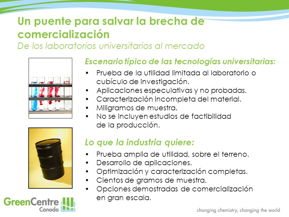 Instalaciones del GreenCentre