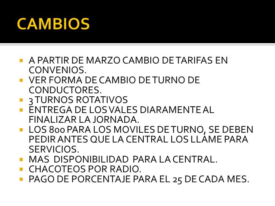 EL TRATO A LOS PASAJEROS EL CONOCIMIENTO DE LAS CALLES. LA PRESENTACION PERSONAL Y DE LOS AUTOS. LA DISPONIBILIDAD.