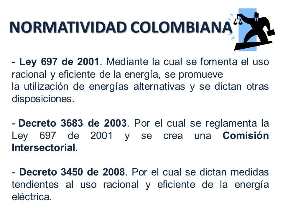 NORMATIVIDAD COLOMBIANA - Ley 697 de 2001.