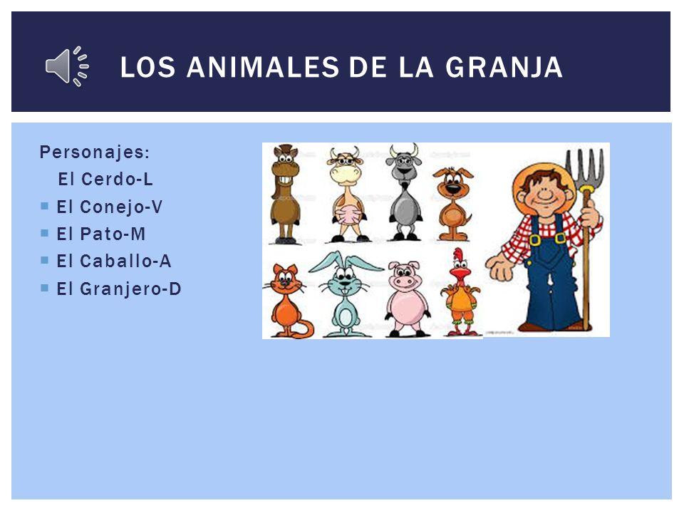 Por: Luci, Valeria, Mia, Ashton, Dylan LOS ANIMALES QUE HABLAN