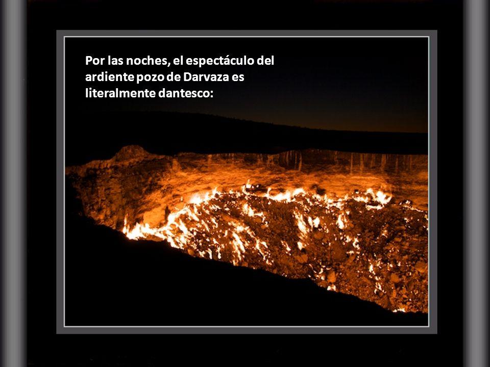 … el intenso calor que emana el cráter sólo permite aproximarse a sus bordes durante escasos minutos, hasta que la temperatura se vuelve insoportable.