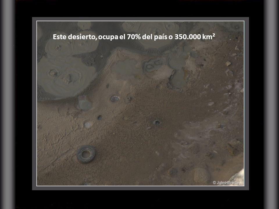 En Turkmenistán solo el 2,5 % de la tierra es apta para cultivos, su población ronda los 5 millones de habitantes. Estamos hablando de un trozo de des