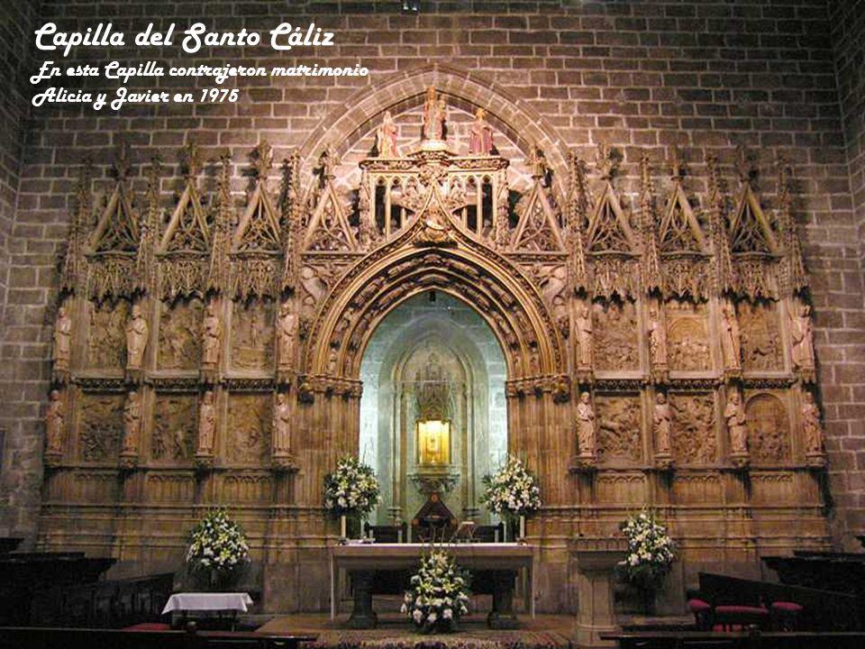 Montaje fotográfico para mostrar las capillas que forman la Girola