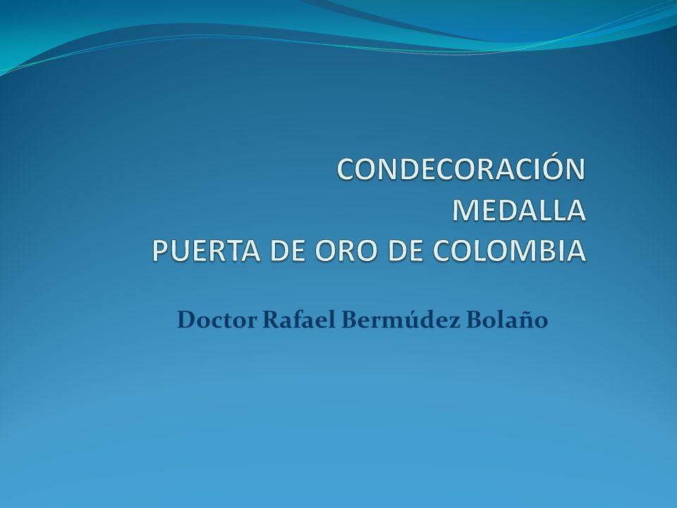 HOMENAJE DE LA ASOCIACIÓN COLOMBIANA DE MEDICINA INTERNA CAPÍTULO DEL CARIBE AL VENERABLE MIEMBRO EMÉRITO, DR.