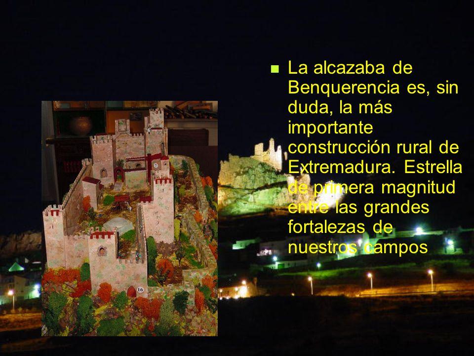 La alcazaba de Benquerencia es, sin duda, la más importante construcción rural de Extremadura. Estrella de primera magnitud entre las grandes fortalez