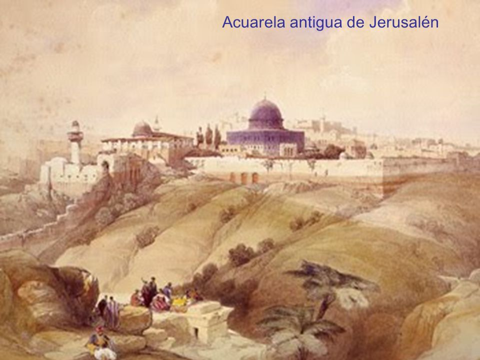 pero escogí a Jerusalén para que mi nombre resida allí… 2 Crónicas 6, 6