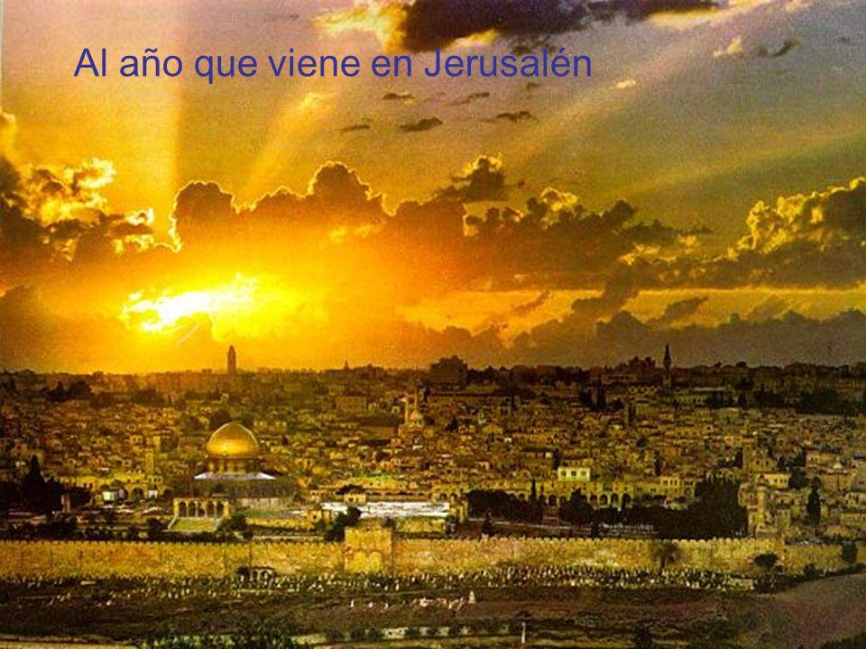 Acuarela antigua de Jerusalén