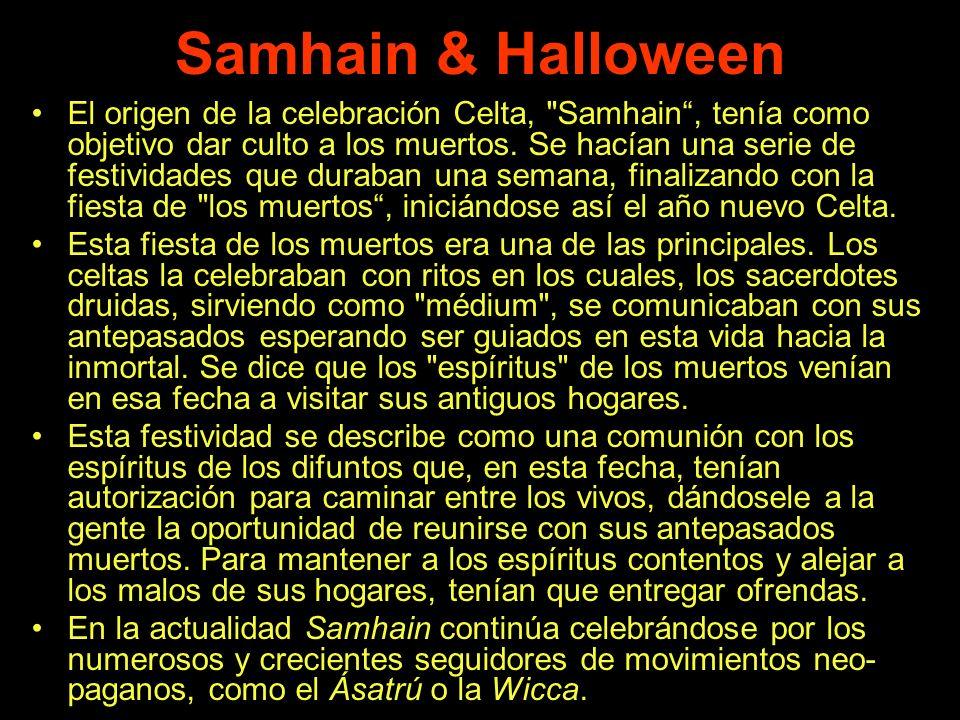 Samhain & Halloween El origen de la celebración Celta,