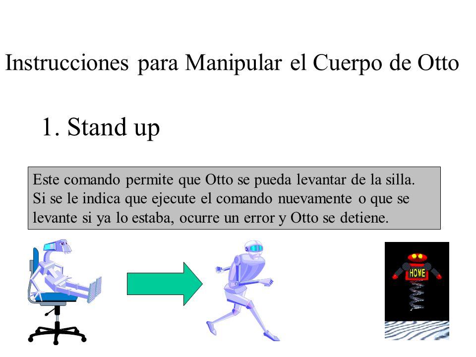 Instrucciones para Manipular el Cuerpo de Otto 1.