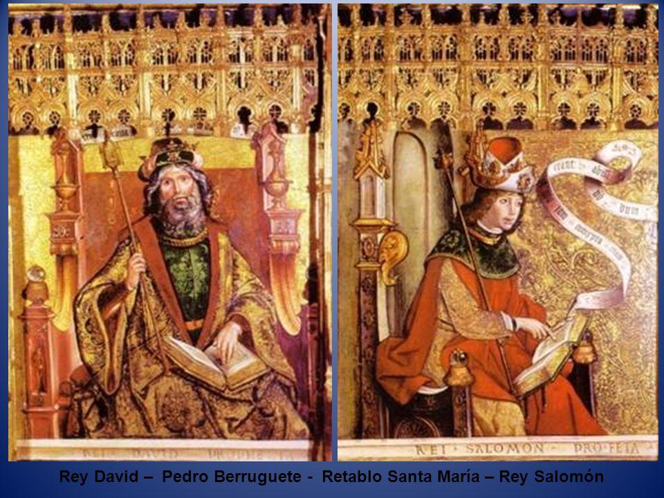 Profeta Ezequiel – Pedro Berruguete - Retablo Santa María – Profeta Isaías