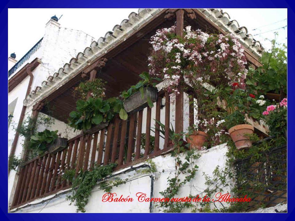 Balcón Carmen cuesta de la Alhacaba