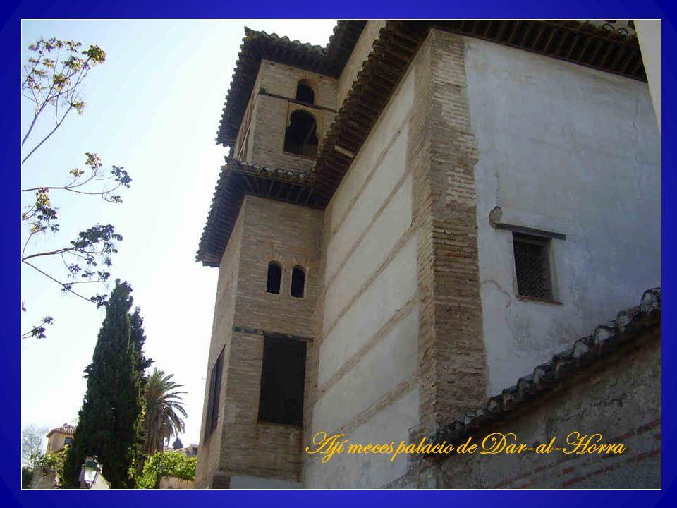 Ají meces palacio de Dar-al-Horra