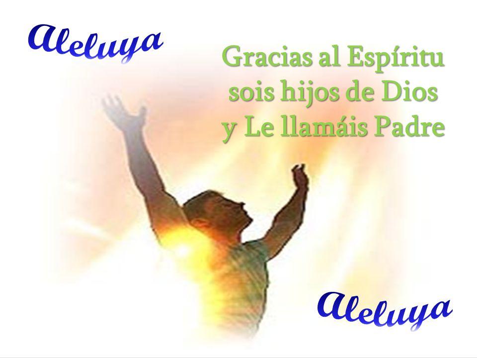 Gracias al Espíritu sois hijos de Dios y Le llamáis Padre
