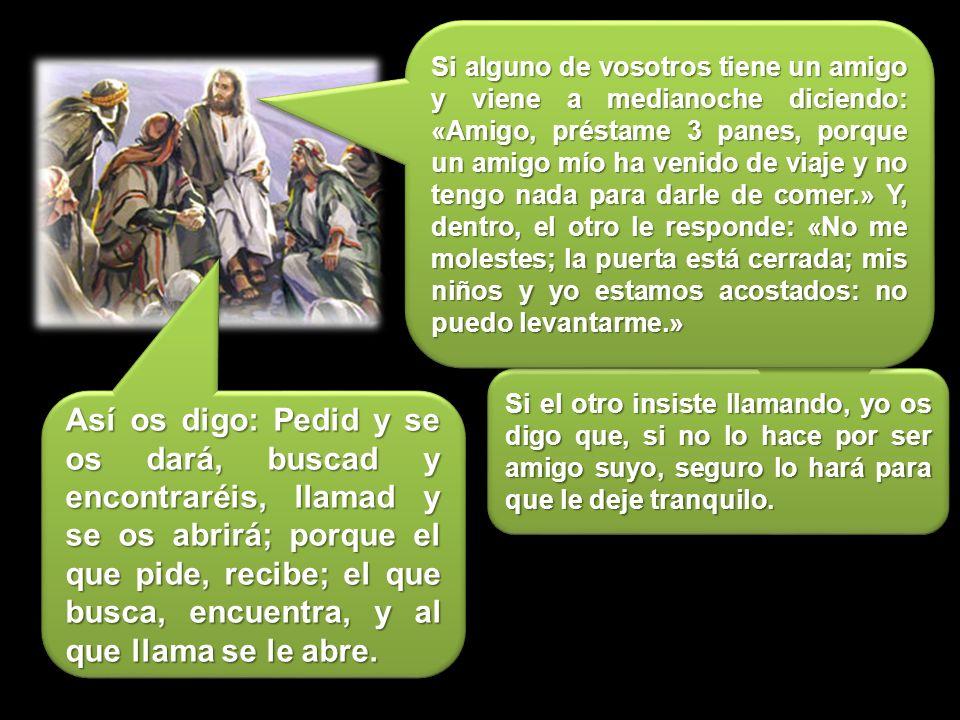 EVANGELIO Jesús estaba orando. Cuando terminó, uno de sus discípulos le dijo: Señor, enséñanos a orar Cuando oréis, decid: « Padre, santificado sea tu