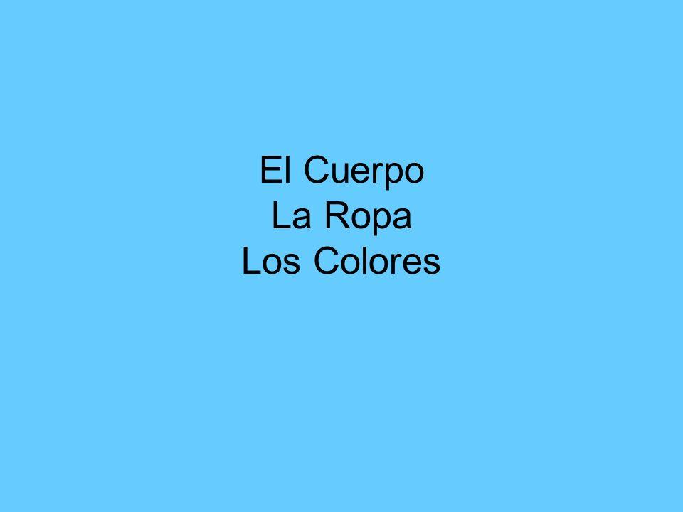 La Ropa Para Mujeres El vestido La falda Las pantimedias La blusa (de seda)Los zapatos de tacon