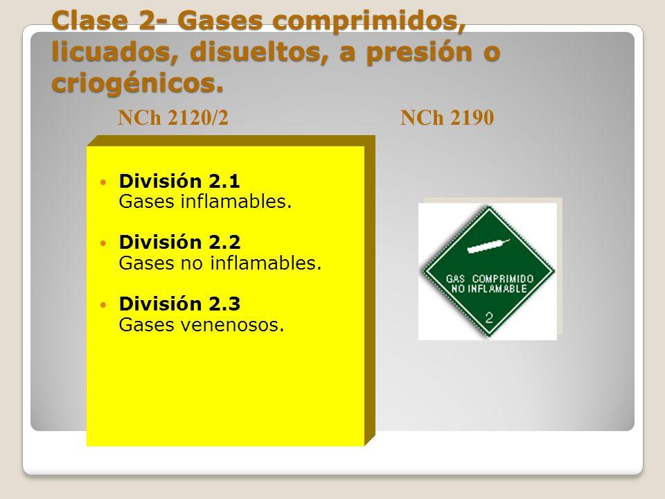 Clase 1- Sustancias y objetos explosivos División 1.1: Sustancias y Objetos con riesgo de explosión masiva. División 1.2: Sustancias y Objetos con rie