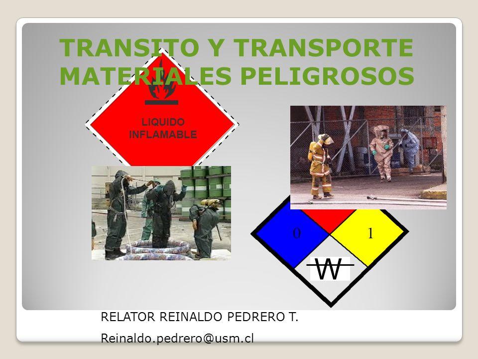 W 1993 LIQUIDO INFLAMABLE 3.1 TRANSITO Y TRANSPORTE MATERIALES PELIGROSOS RELATOR REINALDO PEDRERO T.