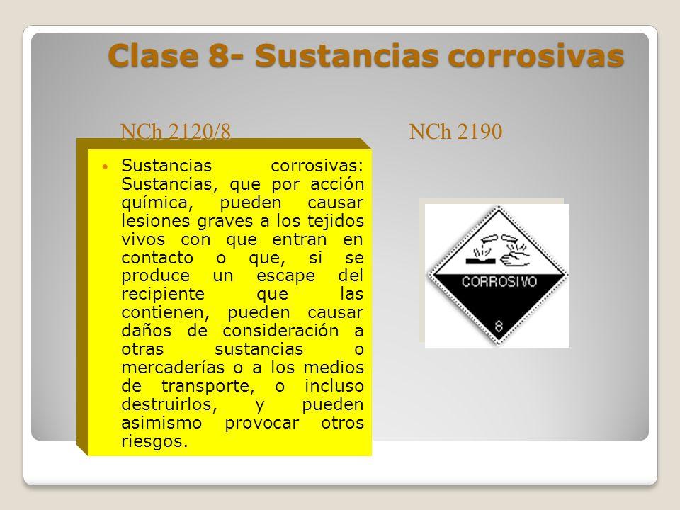 Clase 7- Sustancias radioactivas Toda sustancia Cuya actividad especifica es superior a 74 Bq/g. (1 Bq = becquerel = 1 desintegración/s = 2,7 *10 -11
