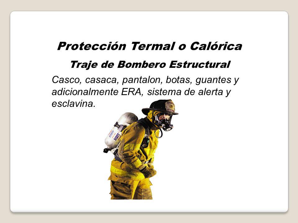 EQUIPOS DE PROTECCION PERSONAL Protección Termal o Calórica Protección Química (Frente a corrosivos – toxicos – quimicos – etiológicos).