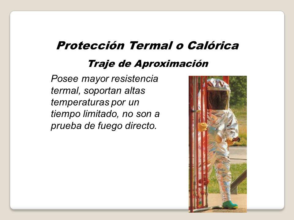 Protección Termal o Calórica Traje de Bombero Estructural Casco, casaca, pantalon, botas, guantes y adicionalmente ERA, sistema de alerta y esclavina.