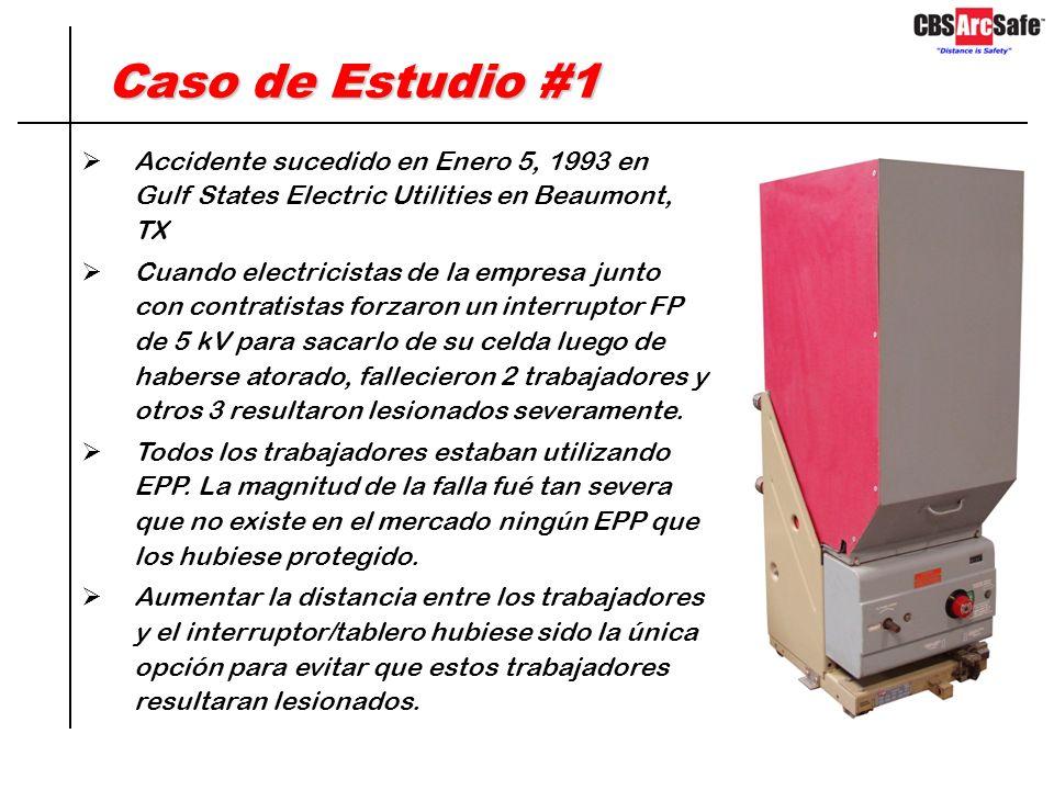 Validéz de los análisis Arc Flash El interruptor falla en abrir El trabajador se vería expuesto a 107 cal/cm2, el traje de 40 cal/cm2 no le daría prot