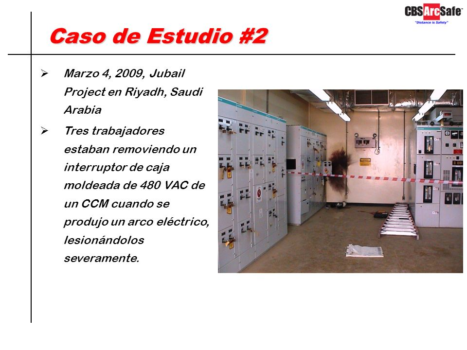 Soluciones ArcSafe – RRS2 Equipo ArcSafe modelo RRS-2
