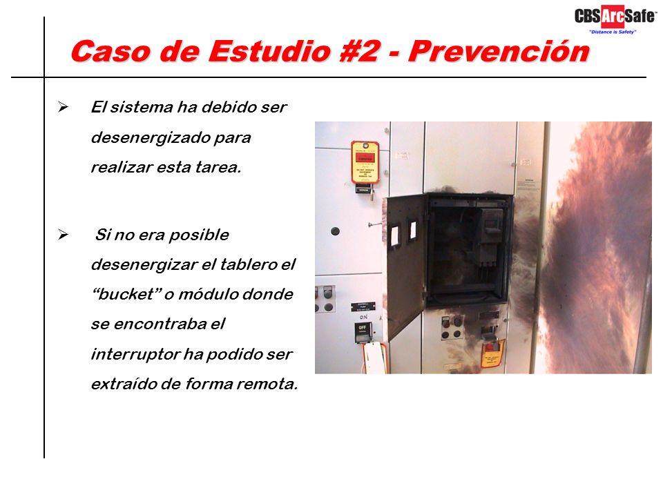 Caso de Estudio #2 - Detalles Los tres trabajadores sufrieron quemaduras de primero y segundo grado y fueron hospitalizados. Mito: Los tableros son di