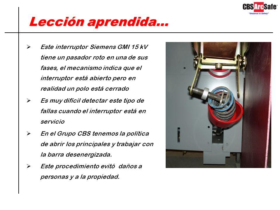 Caso de Estudio #3 - Solución Equipo ArcSafe modelo RRS-1