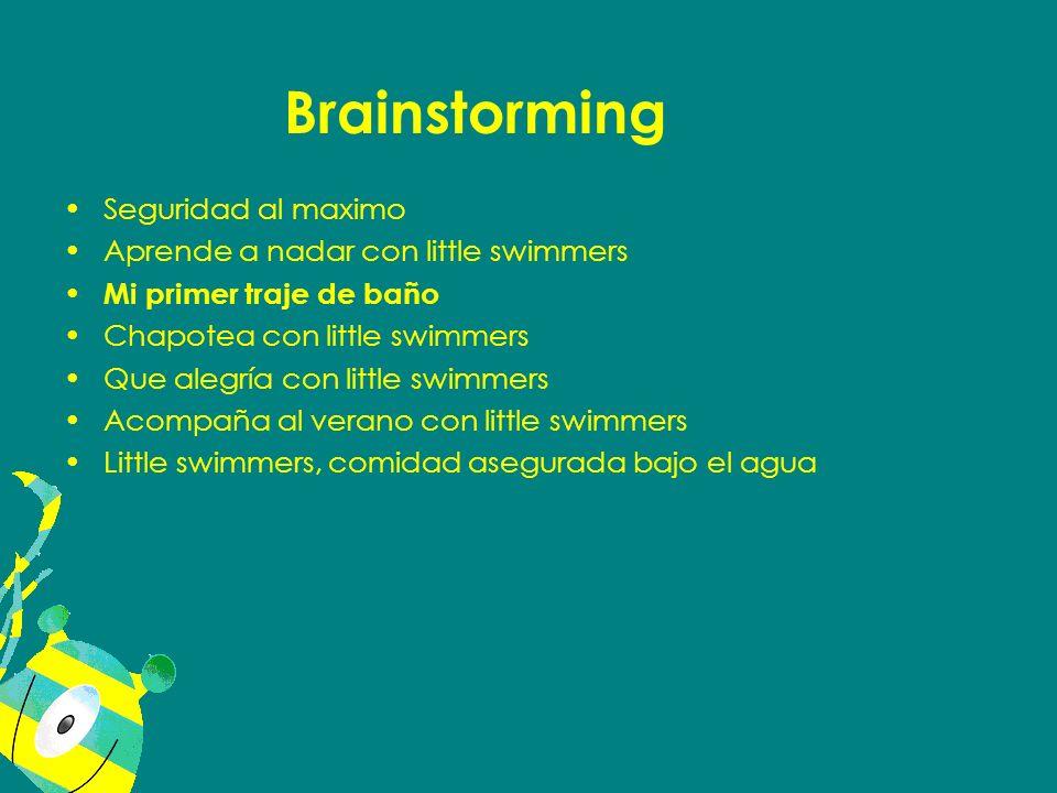 Seguridad al maximo Aprende a nadar con little swimmers Mi primer traje de baño Chapotea con little swimmers Que alegría con little swimmers Acompaña