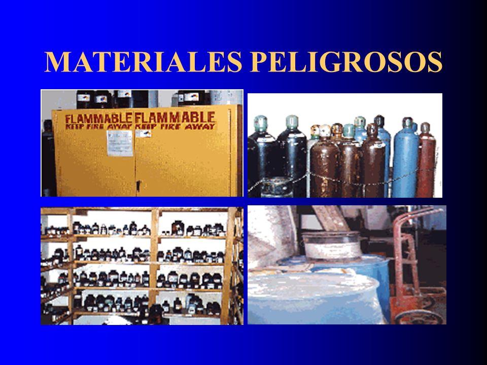 Clasificación de las sustancias en función de sus características físico químicas Sustancias inflamables Sustancias combustibles Substancias químicas explosivas Substancias químicas oxidantes Sustancias químicas con riesgos especiales