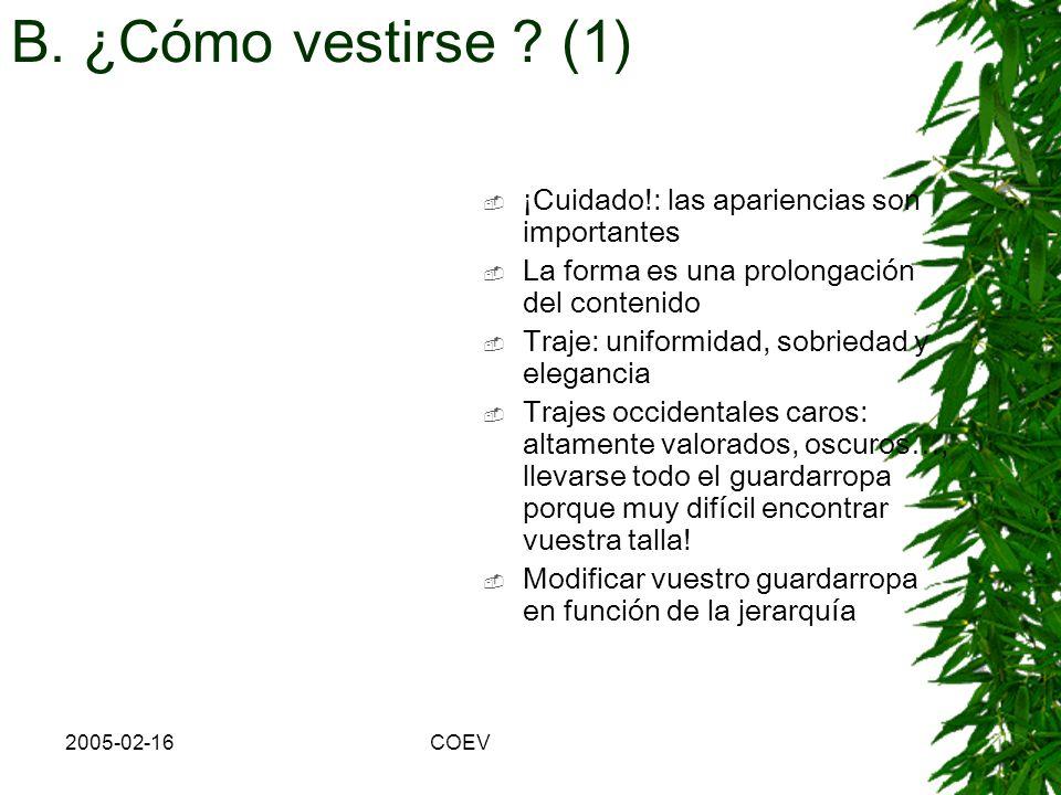 2005-02-16COEV d. Elección de las palabras e. Comunicación no-verbal