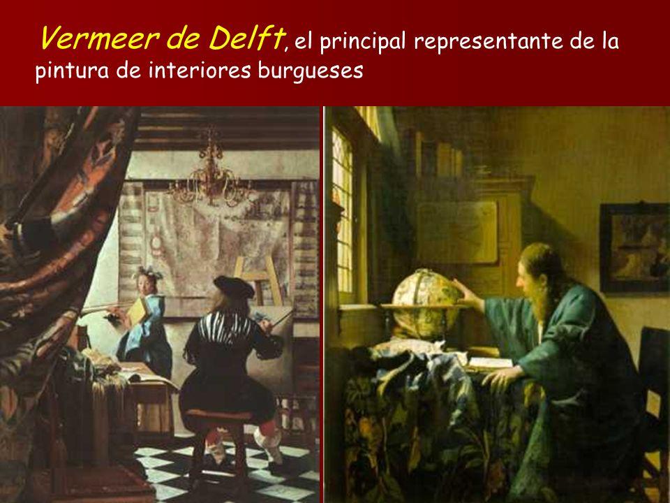 Vermeer de Delft, el principal representante de la pintura de interiores burgueses
