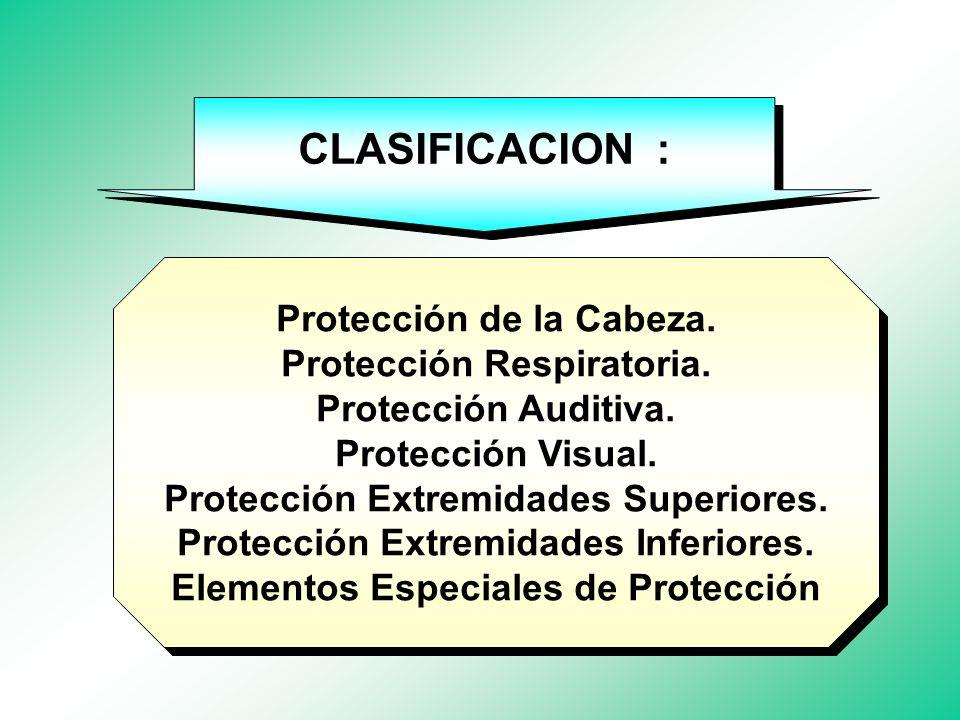 SU SELECCION DEPENDE DE : Protección. Comodidad. Facilidad de Mantenimiento.