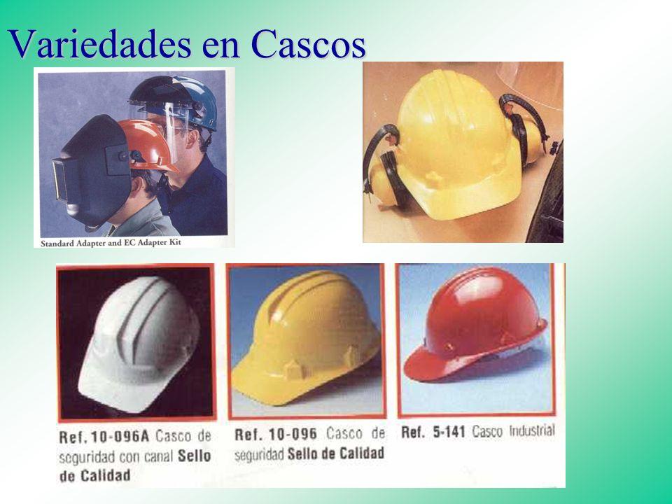 PROTECCION DE LA CABEZA Clase A: Resistencia eléctrica limitada Clase A: Resistencia eléctrica limitada Clase B: Resistencia a alto voltaje Clase C: C