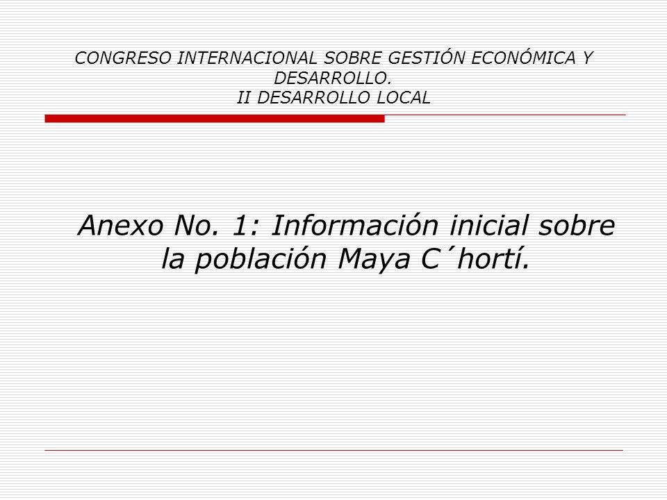 CONGRESO INTERNACIONAL SOBRE GESTIÓN ECONÓMICA Y DESARROLLO. II DESARROLLO LOCAL Procedimiento de Trabajo: Fase Investigación Comunal y Planificación