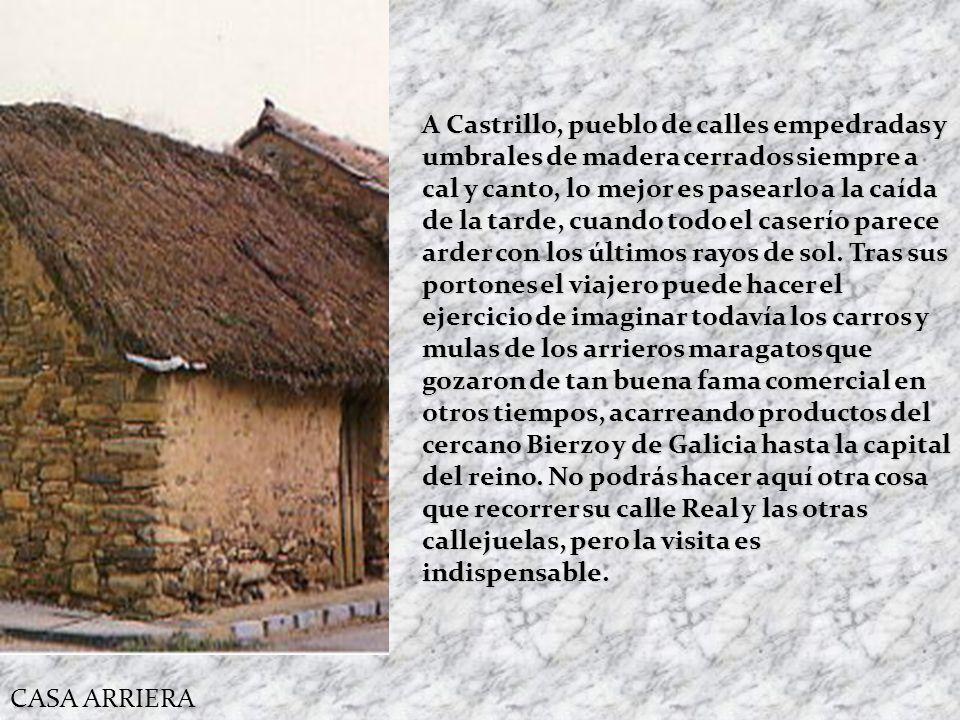COCIDO MARAGATO En la comarca Maragata la cultura gastronómica es el Cocido Maragato. Desde la época de los pueblos maragatos arrieros, es costumbre c