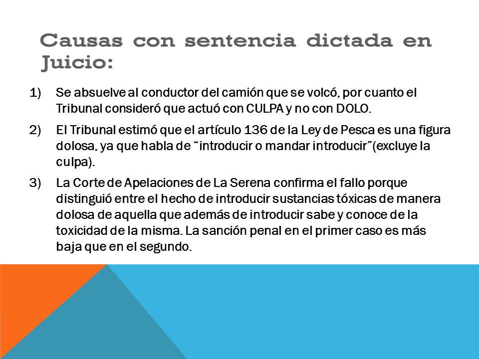 OTROS CASOS DE CONTAMINACION POR EL MISMO DELITO PENAL MEDIOAMBIENTAL, POSTERIORES AL INCIDENTE ANTERIOR.